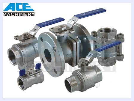 Stainless Steel Butterfly Type Sanitary Ball Valve