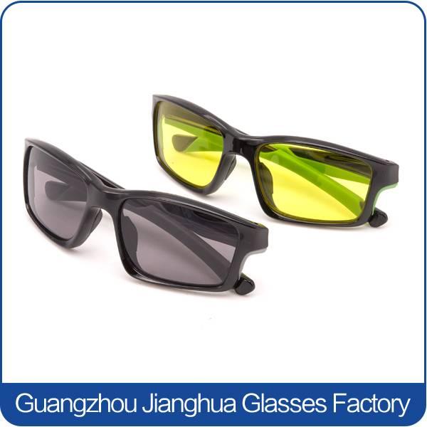 custom logo eye protective grey lens aperol wayfarer sunglasses