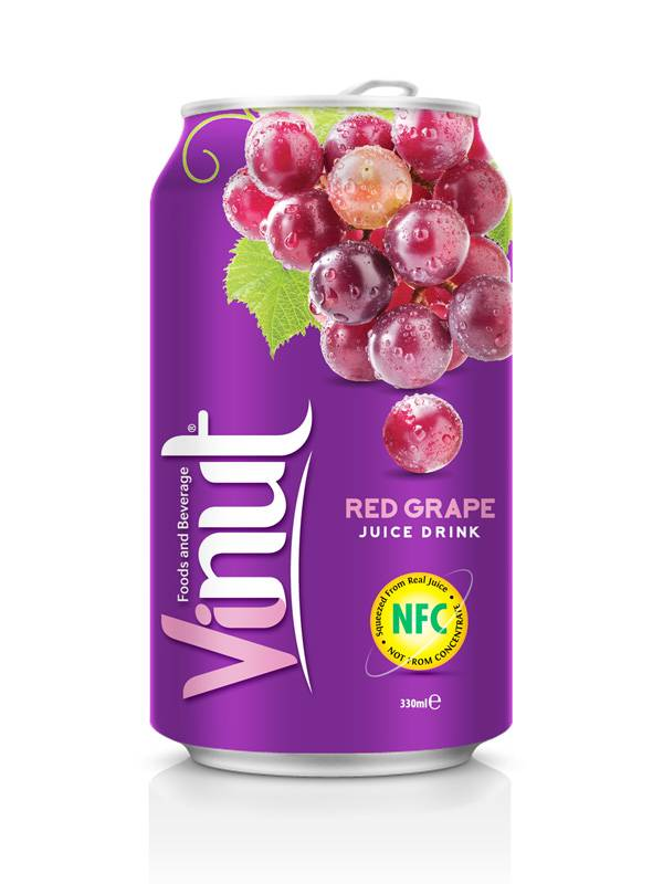 330ml Grape Juice from Vietnam