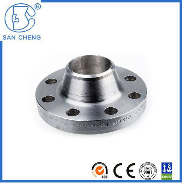 Stainless Steel 304 ASTM Carbon Steel Long Welding Flanges Flange Fittings