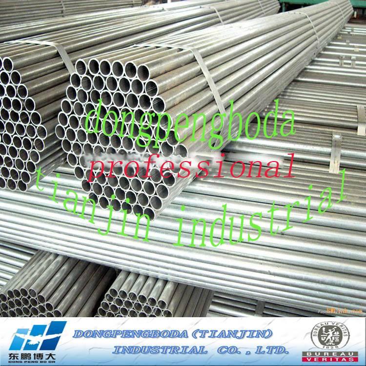 China Manufacture Costruction Q195-Q235 Pre Galvanized Steel Pipes
