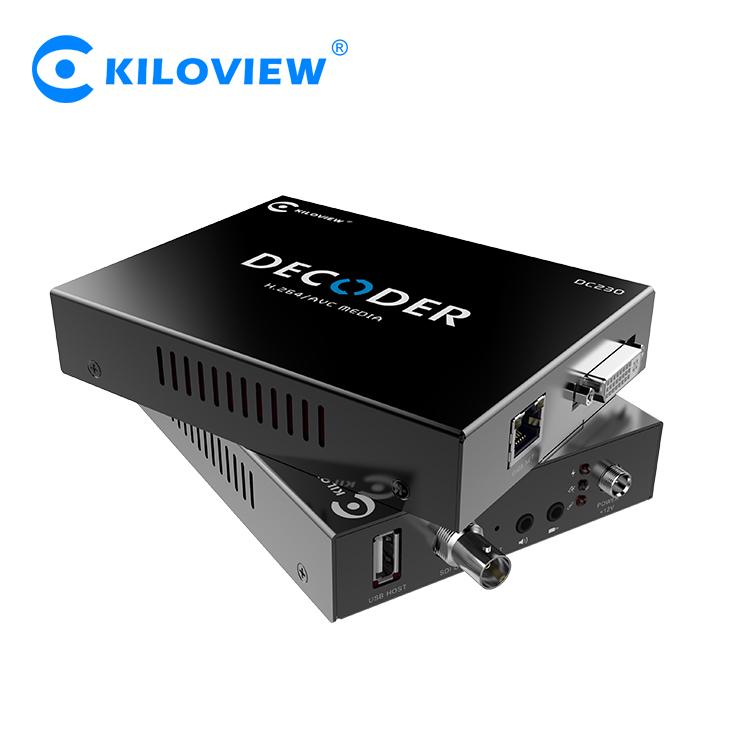 DC230 IP to SDI/HDMI/VGA Video Decoder Hardware