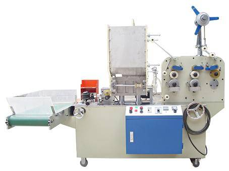 Drinking straw bending packing wrapping machine