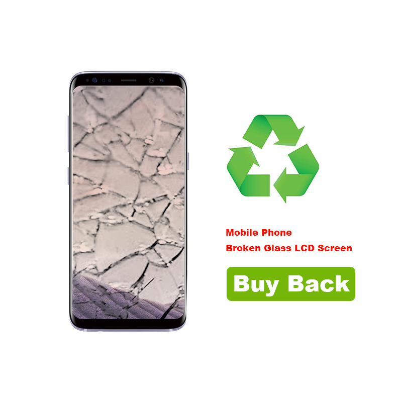 Recycling Your Samsung Galaxy S8 Plus Broken Glass LCD Screen