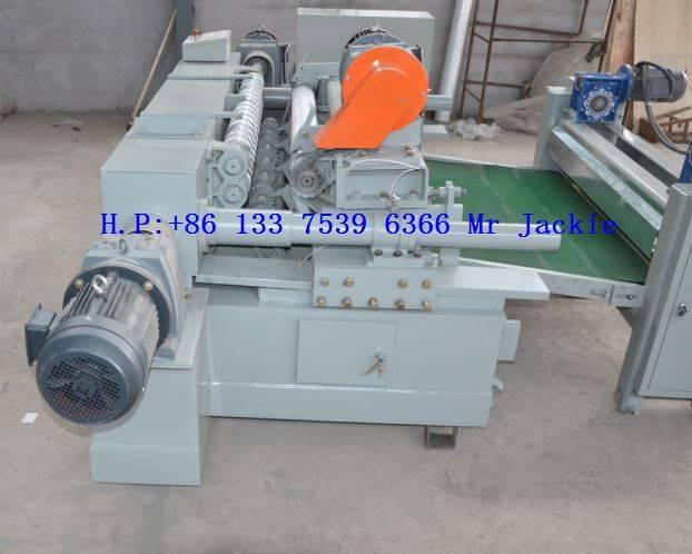 CNC Log Spindle less Veneer Peeling Machinery