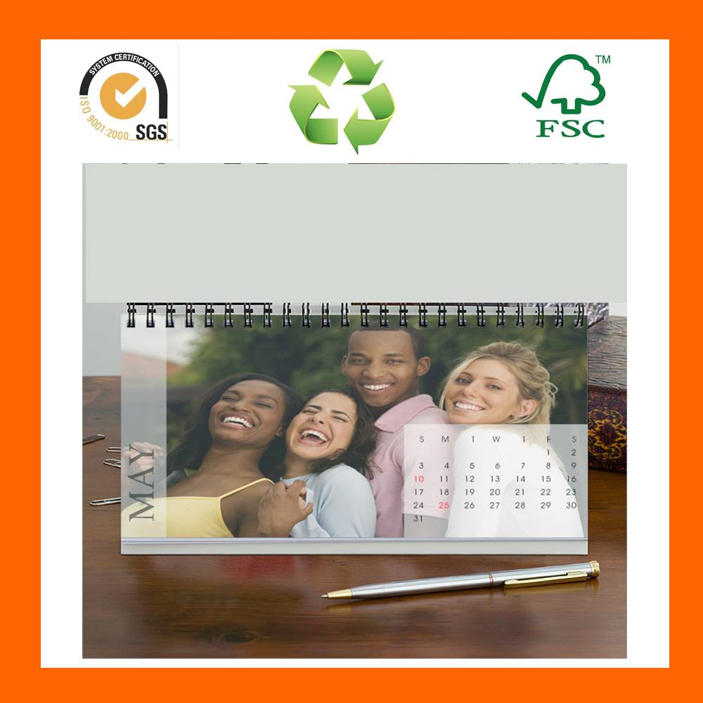 Custom Cheap Family Table Calendar Printing