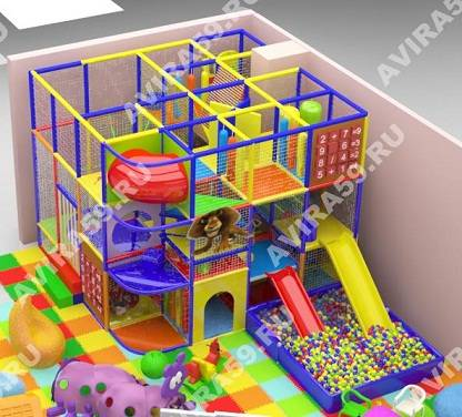 Indoor playground Positive