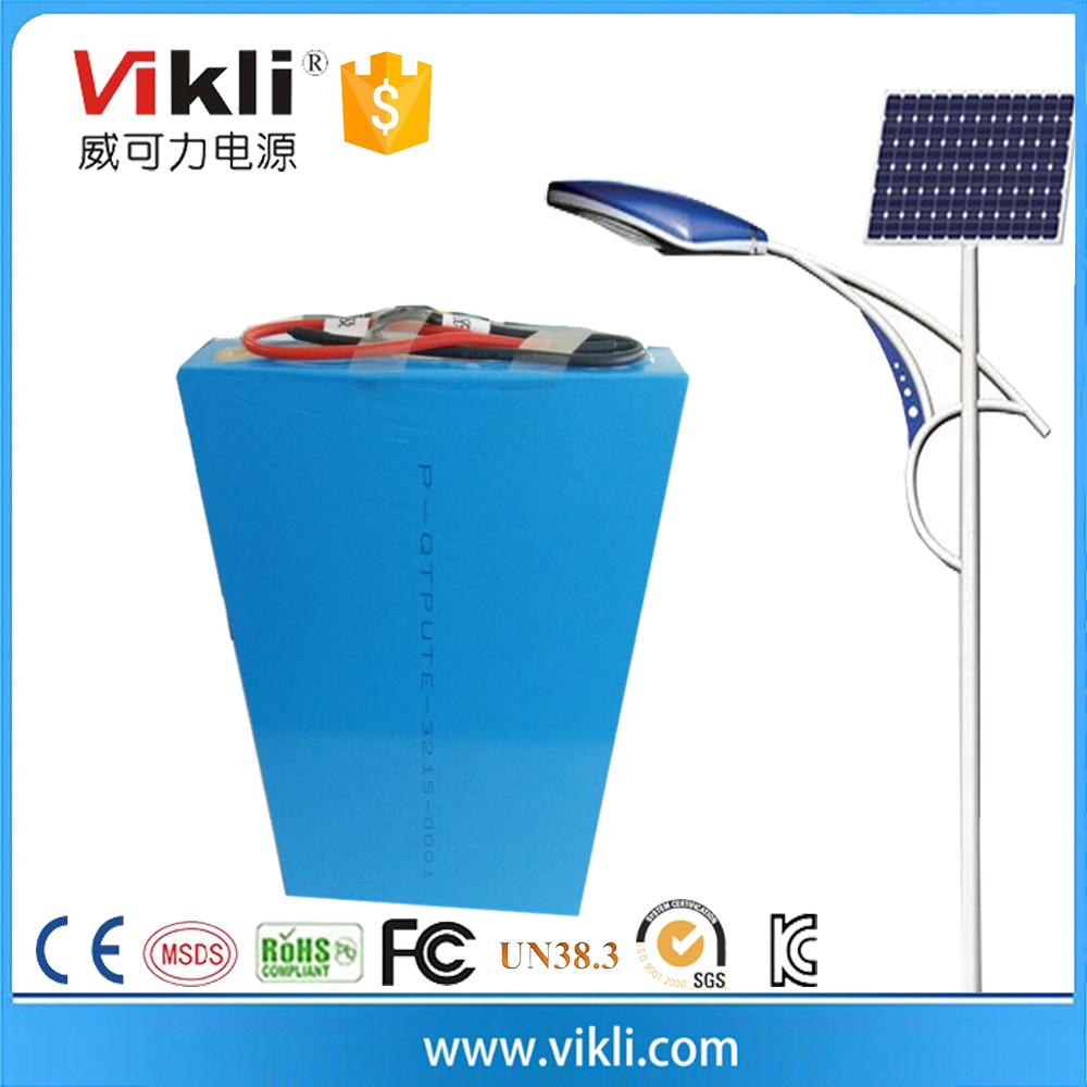 Solar street lamps 12v 30Ah LiFePO4 battery pack