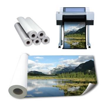 RC photo paper rolls