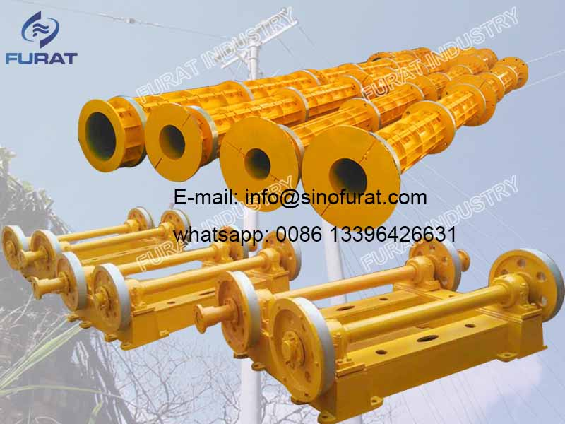 Prestressed Concrete Electricity Pole Forming Mould
