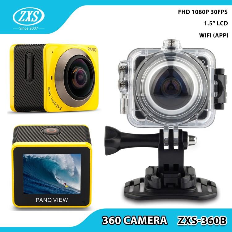 Digital Action Camera Waterproof Helmet Cameras Diving Sport DV 4k 360 Sport Action Camera