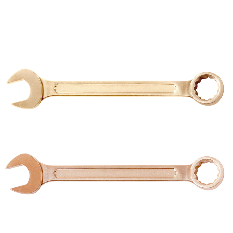 non sparking drop forged combination spanner of beryllium copper or aluminum bronze