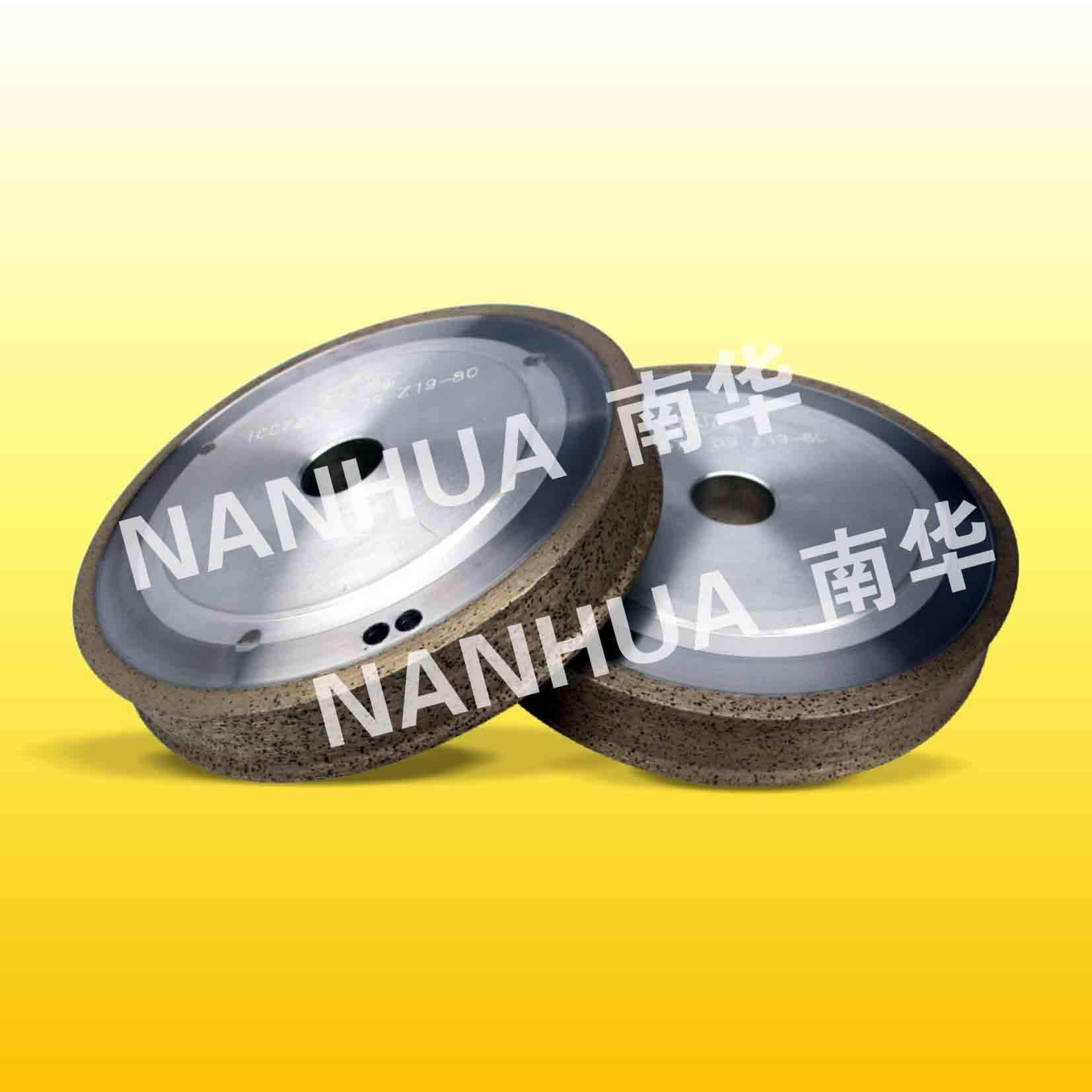 Diamond grinding wheel ( pencil edge or flat with arris)