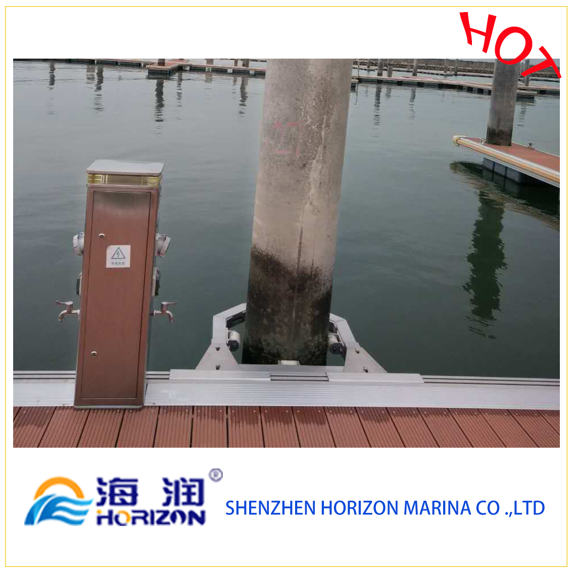 Floating Dock Pile Guide Device for Pile From China