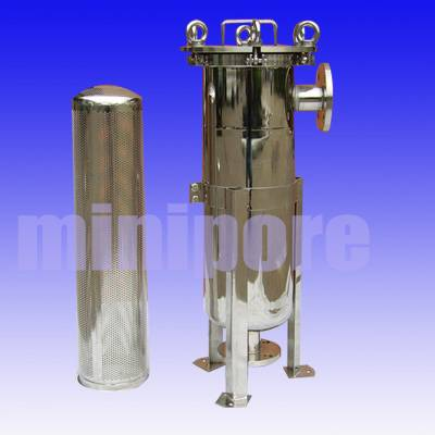 Stainless Steel Industrial Bag Style Filter Housing