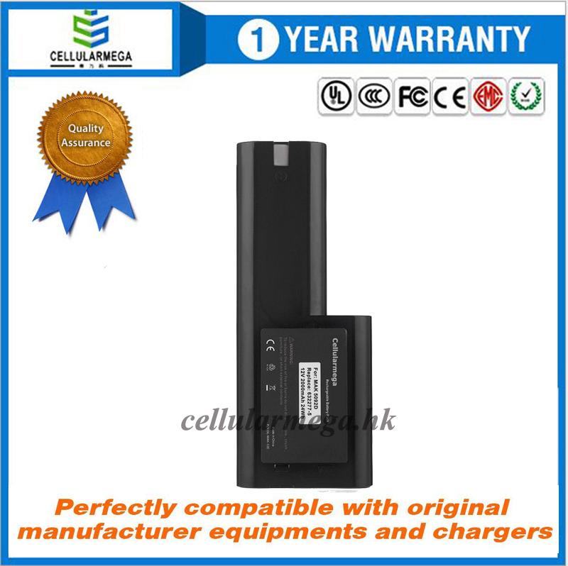 Cellularmega 12v, 2000mAh, Ni-cd, Replacement Power Tool Battery for MAKITA 5092D, 5092DW, 6011D