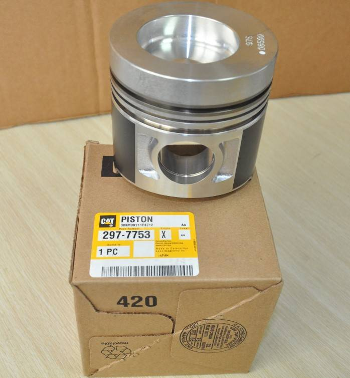 Genuine CATERPILLAR 297-7753 PISTON for Caterpillar Diesel Engine Assembly