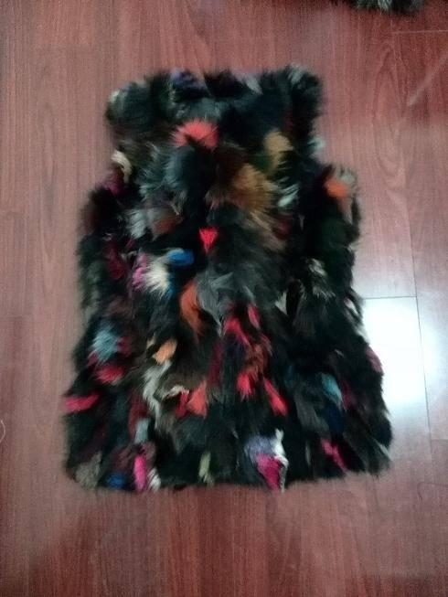 lamb fur vest and waistcoat