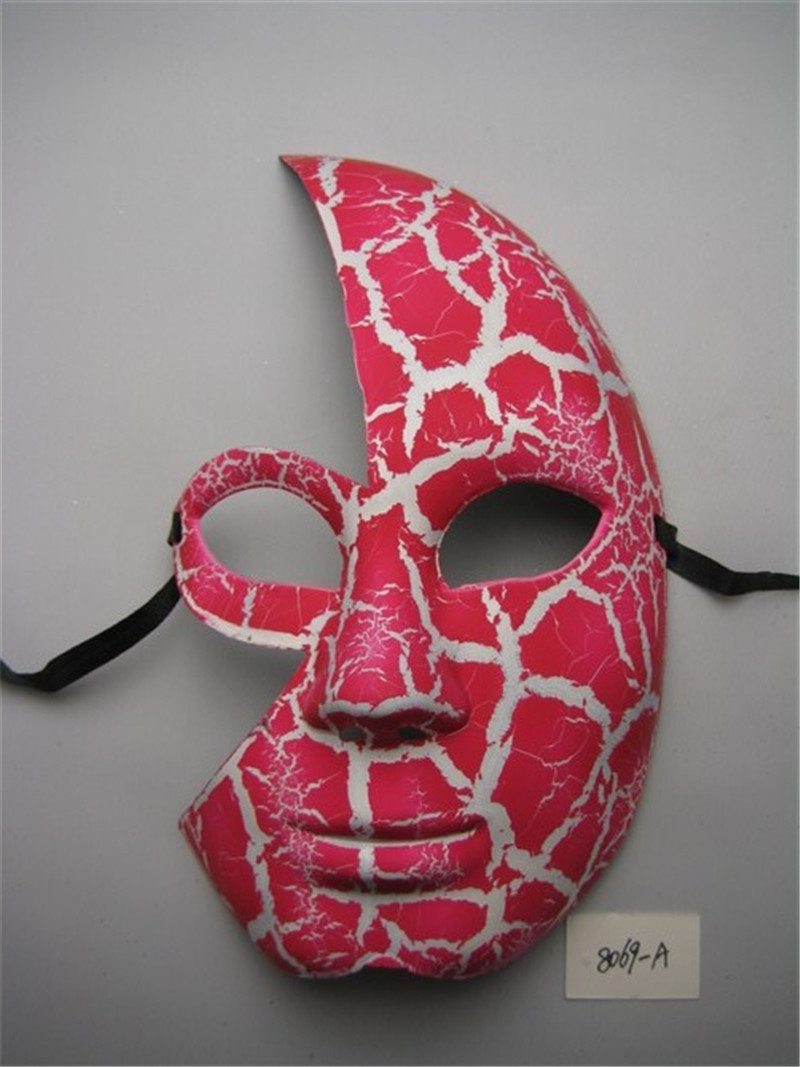 Halloween Venetian Masquerade Dancing Party Crack Half Face Party Mask