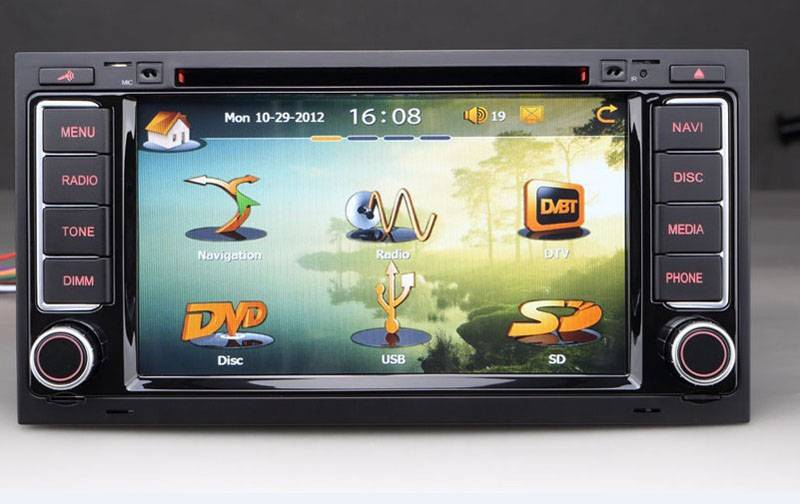 car gps Volkswagen Touareg/T5 dvd navigation