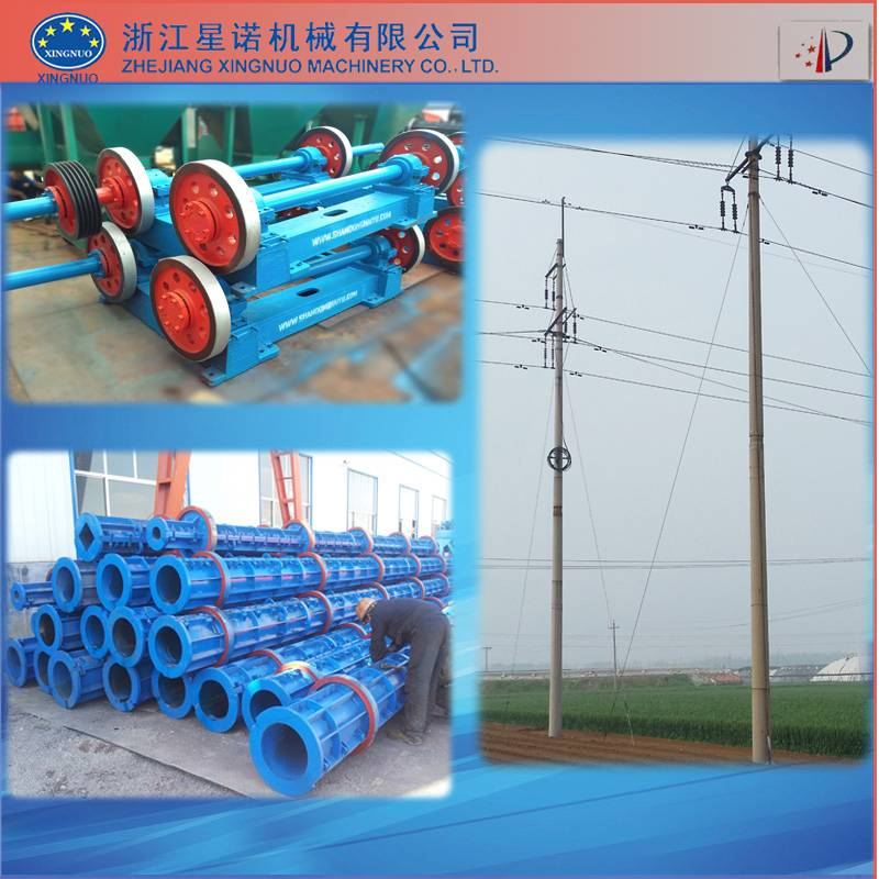 Prestressed concrete pole production line