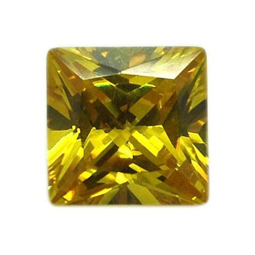 Suhua Square Dimensional Cubic Zirconia Elegant Jewelry Gems Stones h230
