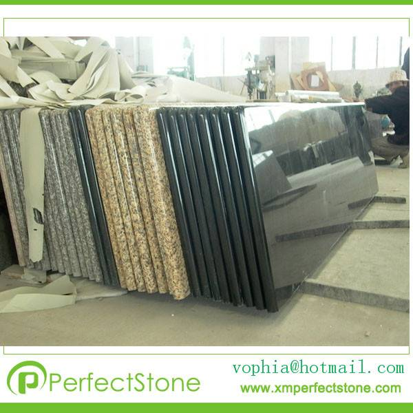 Various Color Modular Prefab Granite Kitchen Counter Tops From manufacturer
