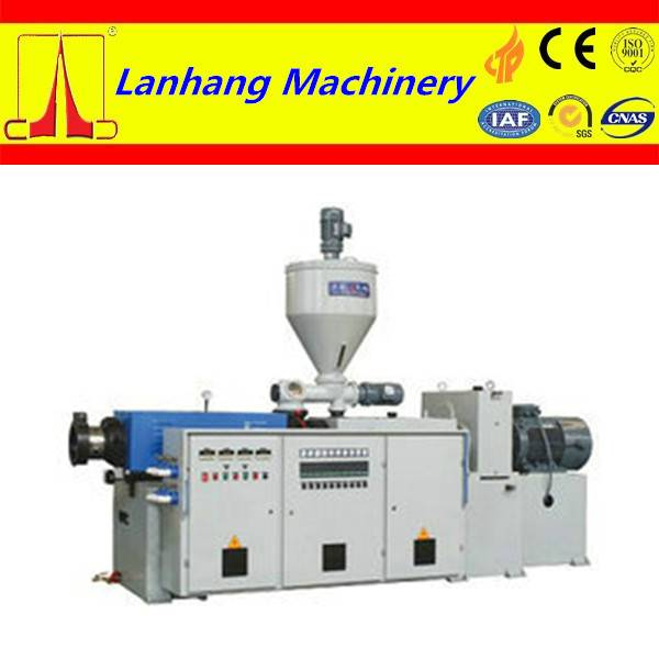 high quality and low noise Conical twin-screw PP extruder