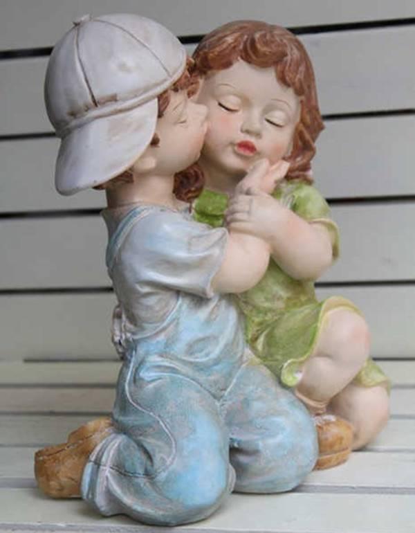 factory custom OEM/ODM wholesale angel sculpture resin angel sculpture