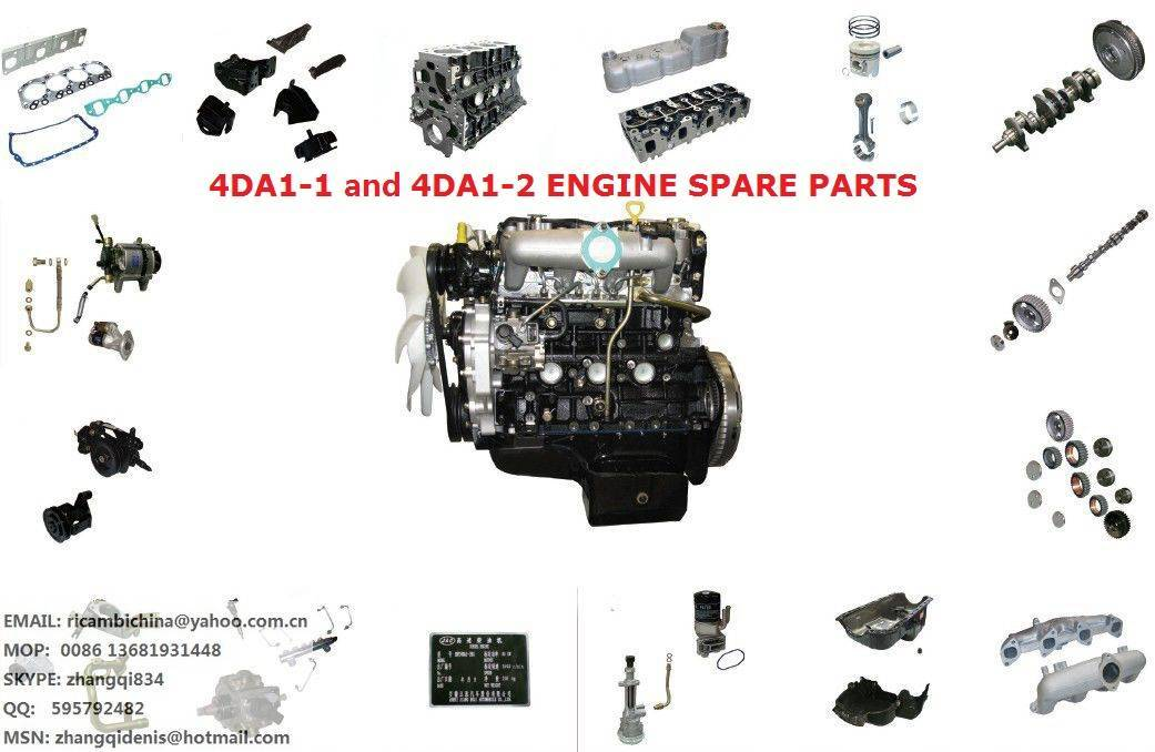 JAC HFC4DA1 engine spare parts