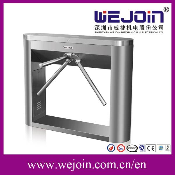 Card Reader Automatic RS232 Turnstile Gates, Tripod Turnstile For Access Control System (WJTS110)
