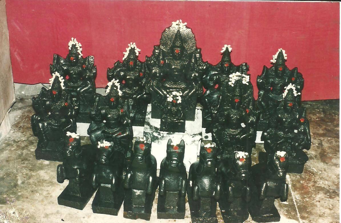 Navagraha Stone Idols
