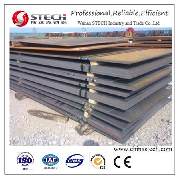 ASTM A36 HR MS Steel Plate/Sheet/Coil