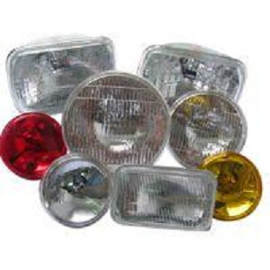 Automotive Headlamp Sealed Beams Lamp PAR36 PAR46 PAR56 5'square 7'square