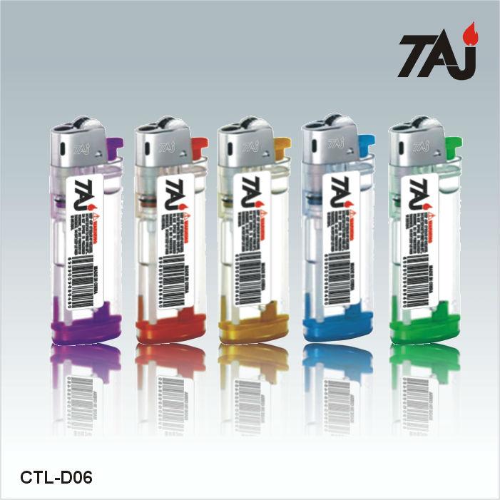 2019 Hot Sell TAJ Brand Cigarette Gas Lighter