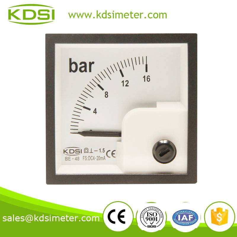 Industrial universal BE-48 DC4-20mA 16bar current pressure meter