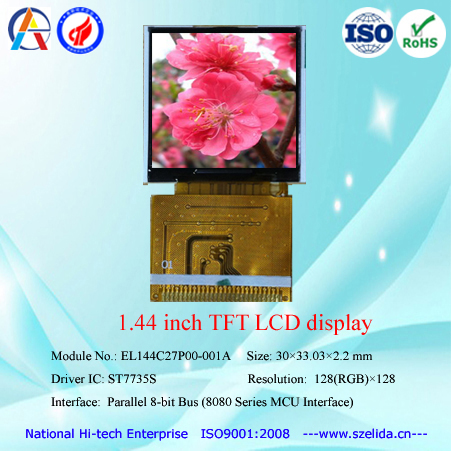 OEM 1.44 inch color lcd screen at lowest cost