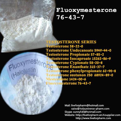 Buy Fluoxymesterone Raw Powder Halotestin Bulk Steroid Raw