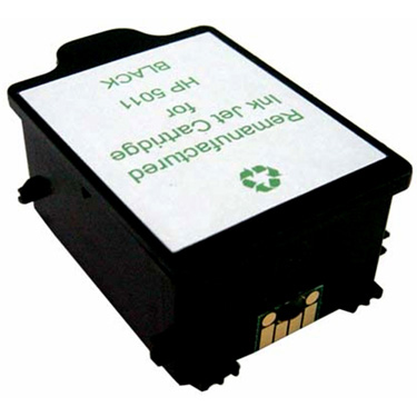Remanufactured Black Inkjet Cartridge for HP 5011D BK