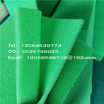 Round tube-shaped white filter sponge for water absorption and pollution, pool pipe cleaning filter