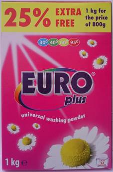 Washing powder Euro Plus