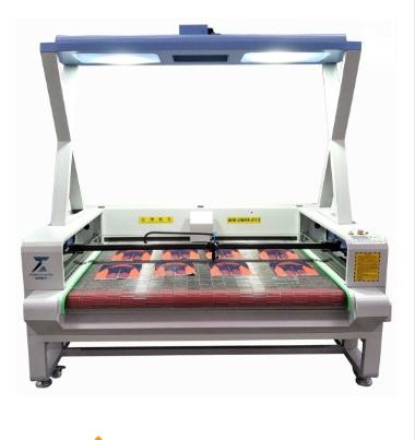 Ccd camera laser cutting engraving machine