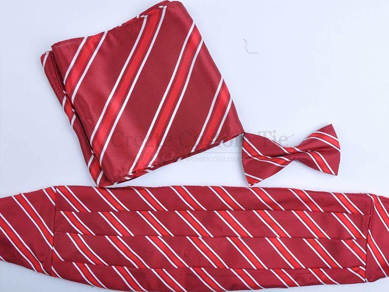 Custom silk woven cummerbunds Custom Cummerbunds