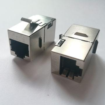 8P8C RJ45 connectors Cat6,NET Module
