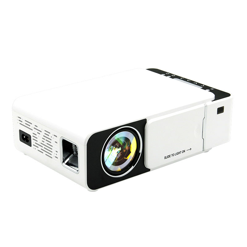 2020 factory wholesale 800x480 wifi lcd led mini portable home theater projector T5