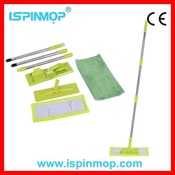 ISPINMOP microfiber flat mop refill