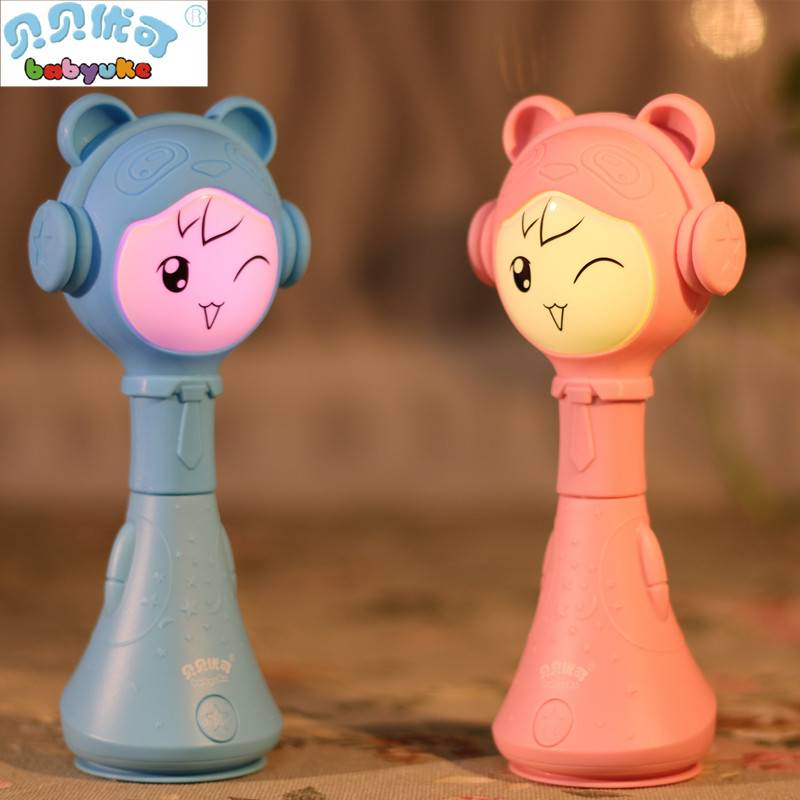 babyuke early educational toy buddy bunny baby MP3 player Smarty Shake&Tell rattle L2