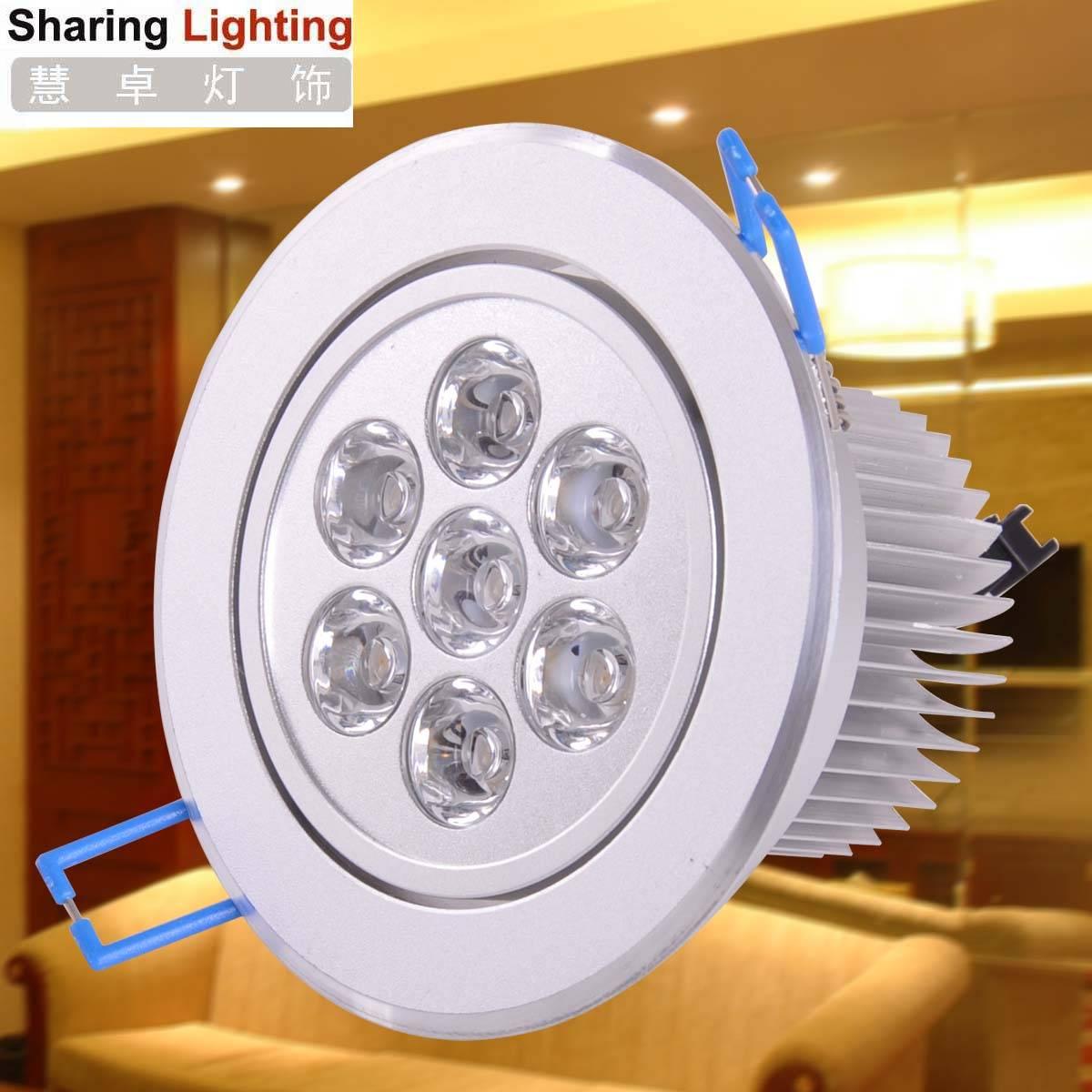 7W LED high power led downlight,wholesale led lights,High energy led downlights