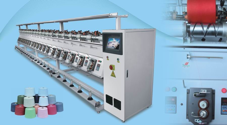 TH-8H Soft/Hard winding machine for cotton/wool/Acrylic thread