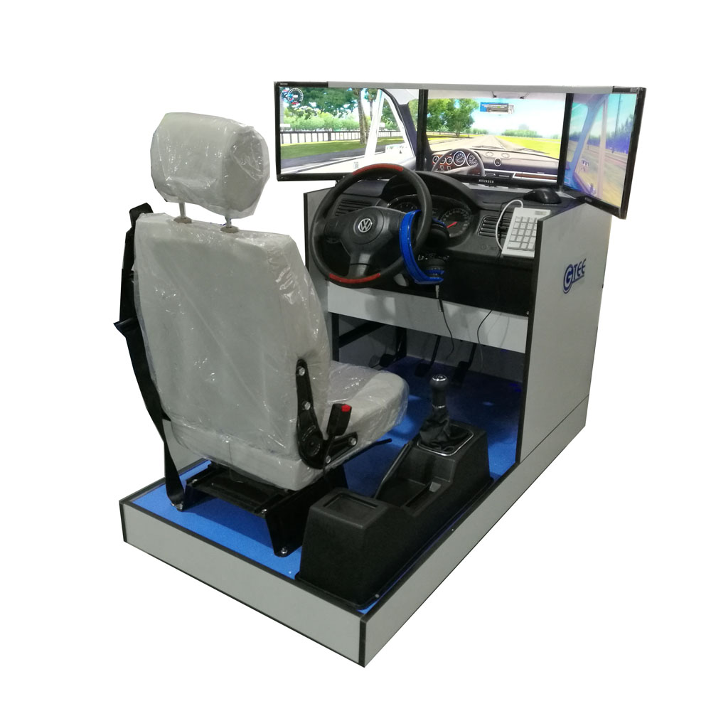 Standard car driving simulator(3 screens)